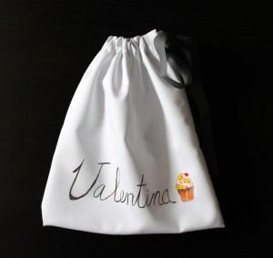 Lolitaluna. Bolsa de merienda cup cake 22x24
